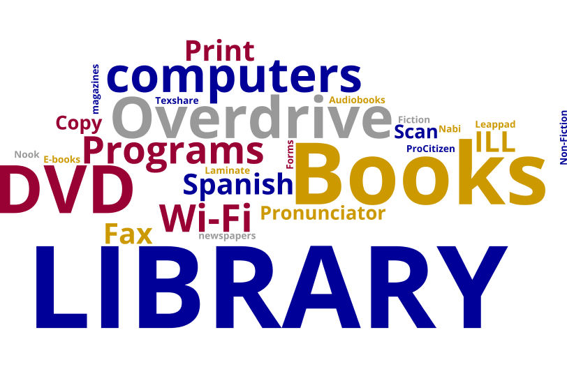 Print, Computers, Library, Books, DVDs and Programs